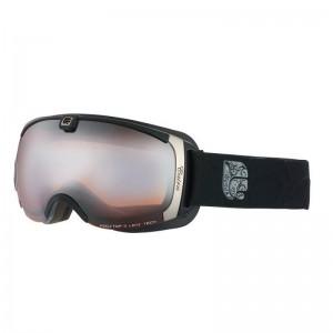 Damskie Gogle Pearl Mat Black Silver